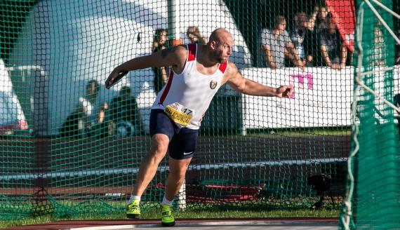 Piotr Małachowski, Mistrzostwa Polski w Lekkoatletyce w Białymstoku 2017, fot. Joanna Żemojda