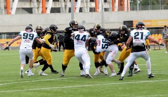 Lowlanders Białystok - Panthers Wrocław - fot. Robert Bonkowski (17.10.2020)
