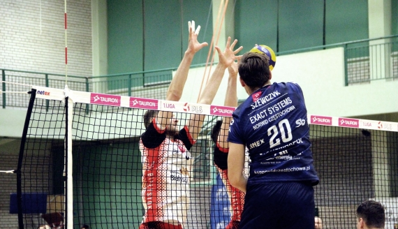 BAS Białystok przegrał z Norwidem Częstochowa 0:3 - fot. Robert Bońkowski