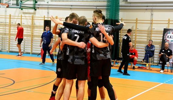 Siatkarze BAS Białystok pokonali 3:0 SMS Spała - Fot. Robert Bońkowski