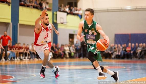 Tur Basket Bielsk Podlaski - Żubry Białystok, 23.10.2019, fot. Joanna Szubzda