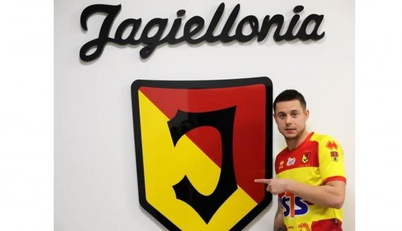 Ariel Borysiuk, źródło: www.jagiellonia.pl