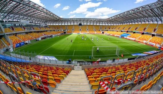 Stadion Miejski w Białymstoku - fot. Joanna Szubzda