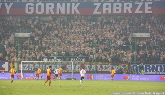 Górnik Zabrze - Jagiellonia Białystok, 21.12.2019, fot. Joanna Szubzda