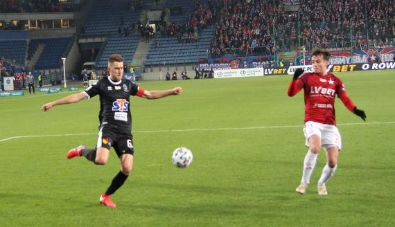 Jagiellonia przegrała 0:3 z Wisłą Kraków - fot. Robert Bońkowski