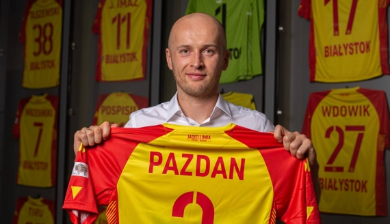 Michał Pazdan, fot. Jagiellonia Białystok
