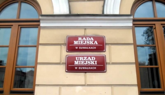 Urząd Miejski w Suwałkach, fot. Anna Przybycień