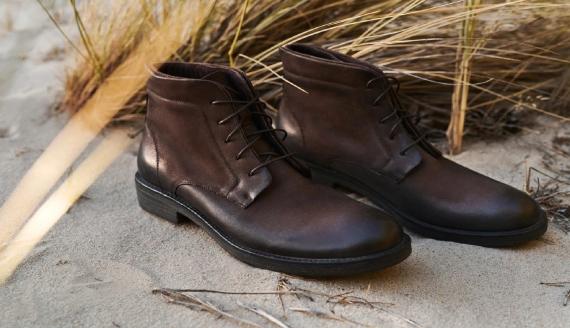 Materiały reklamowe, buty zimowe