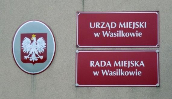 Urząd Miejski w Wasilkowie, foto: Monika Kalicka