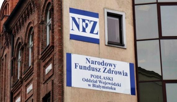 Budynek NFZ w Białymstoku, foto: Monika Kalicka
