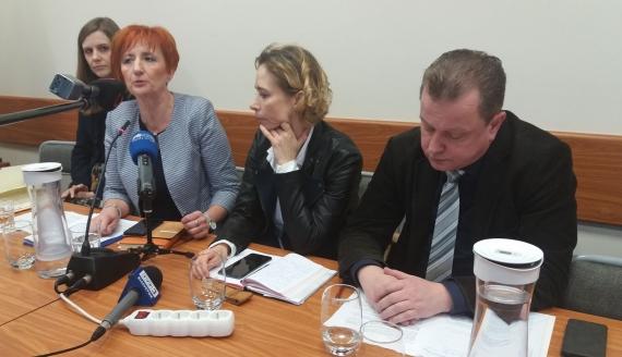Przedstawiciele GDDKiA przeanalizują zgłoszony przez władze Augustowa wariant przebiegu obwodnicy miasta, fot. Marcin Kapuściński