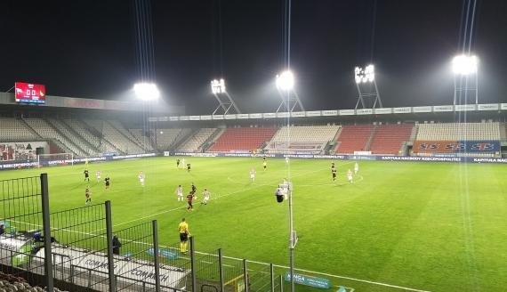 Cracovia - Jagiellonia Białystok, 7.11.2020, fot. Wojciech Szubzda