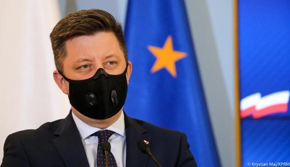 Szef Kancelarii Premiera Michał Dworczyk, źródło: Krystian Maj/KPRM