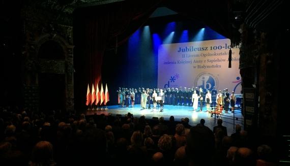 II Liceum Ogólnokształcące w Białymstoku ma już 100 lat, fot. Marcin Mazewski