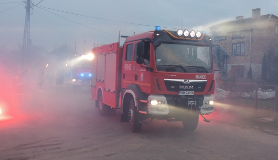 Strażacy z Kulesz Kościelnych mają dwa nowe samochody, fot. Adam Dąbrowski