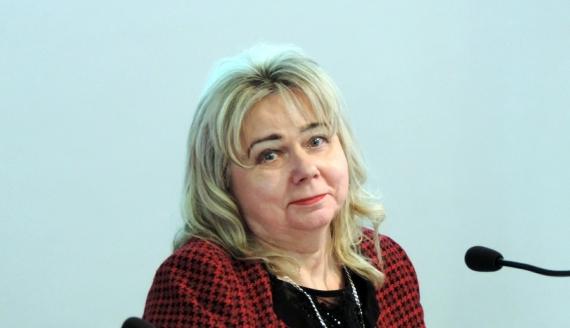 Alicja Konopka została nową przewodniczącą rady miejskiej w Łomży, fot. Adam Dąbrowski