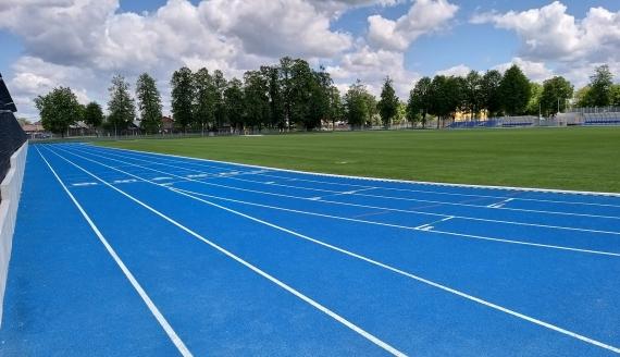 Wkrótce sportowcy będą mogli korzystać ze stadionu w Hajnówce, fot. Anna Petrovska