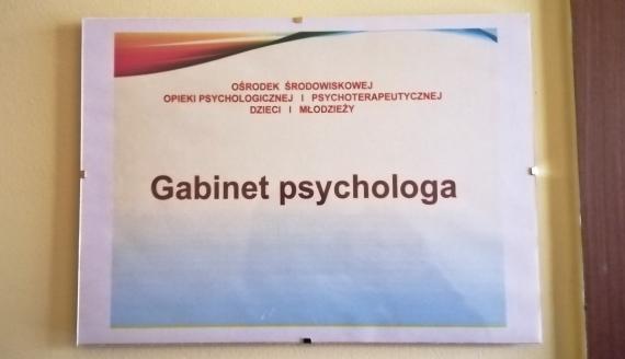 Ośrodek Środowiskowej Opieki Psychologicznej i Psychoterapeutycznej dla Dzieci i Młodzieży w Sokółce, fot. Marcin Gliński