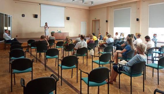 Spotkanie ruchu społecznego Polska2050 w Białymstoku, fot. Laura Maksimowicz