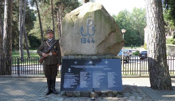 Uroczystości 77. rocznicy bitwy w Czerwonym Borze