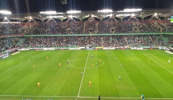 Legia Warszawa - Jagiellonia Białystok, 22.02.2020, fot. Wojciech Szubzda