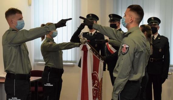 Podlaska KAS ma nowych funkcjonariuszy, źródło: podlaskie.kas.gov.pl