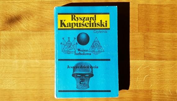 """""""Wojna futbolowa"""" Ryszarda Kapuścińskiego, fot. Adam Janczewski"""