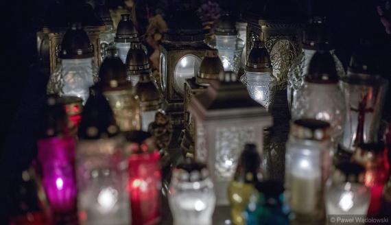 Dzień Wszystkich Świętych na cmentarzu przy ul. Kopernika w Łomży, fot. Paweł Wądołowski