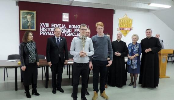 """Rozstrzygnięto konkurs historyczny """"Epoka Prymasa Tysiąclecia"""", fot. Adam Dąbrowski"""