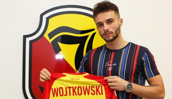 Kamil Wojtkowski nowym piłkarzem Jagiellonii - fot. Biuro Prasowe Jagiellonii Białystok