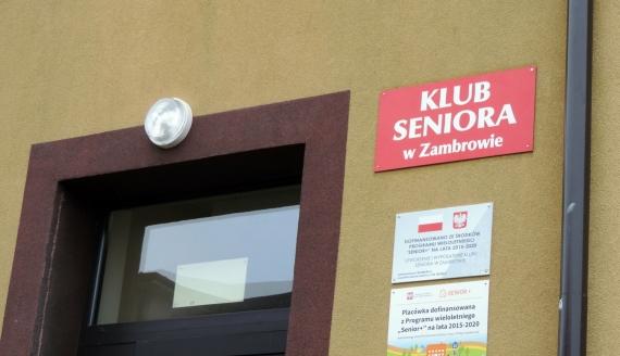 W Zambrowie zaczął działać pierwszy w mieście Klub Seniora, fot. Adam Dąbrowski