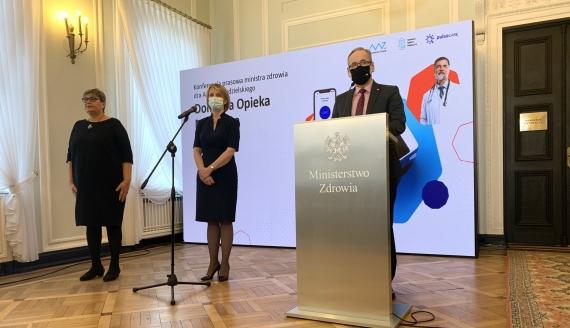 Minister zdrowia Adam Niedzielski, źródło:Ministerstwo Zdrowia/Twitter
