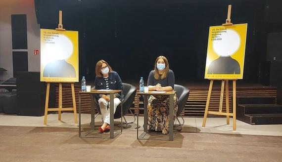 Konferencja zapowiadająca 35. Dni Sztuki Współczesnej w Białymstoku, fot. Olga Gordiejew
