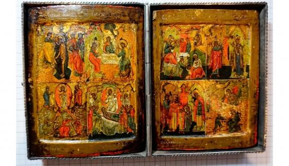 Źródło: Muzeum Ikon w Supraślu Oddział Muzeum Podlaskiego w Białymstoku