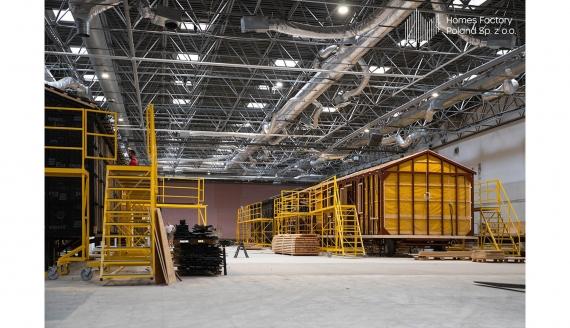 Domy modułowe Homes Factory, źródło: Facebook Homes Factory Poland