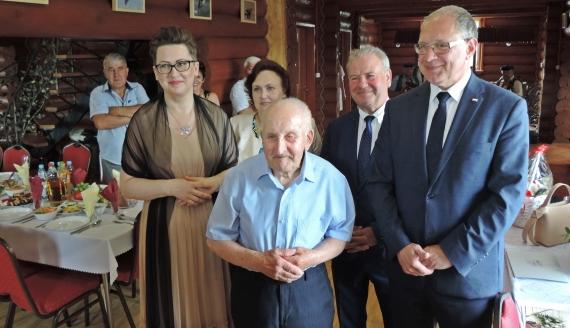 Tadeusz Grabowski kończy 100 lat, fot. Adam Dąbrowski