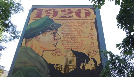 Obchody 100-lecia Bitwy Warszawskiej w Łomży, fot. Adam Dąbrowski