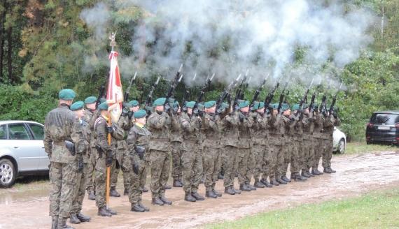 Obchody 82. rocznicy bitwy w Pruszance Starej, fot. Adam Dąbrowski