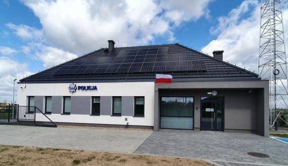 Policjanci z Rajgrodu mają nową siedzibę, źródło: grajewo.policja.gov.pl