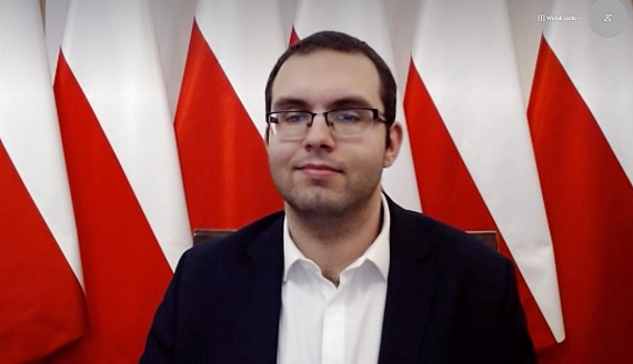 Piotr Mazurek, screen z rozmowy