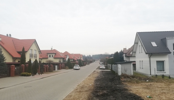 Mieszkańcy białostockiej Bagnówki od lat walczą o oświetlenie ulic, fot. Michał Buraczewski