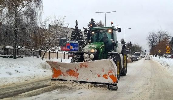 Trudne warunki na białostockich ulicach, fot. Monika Kalicka