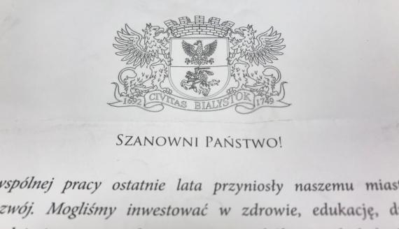 Białostoczanie otrzymają list od prezydenta - wyjaśnia w nim m.in. podwyżkę cen biletów BKM, fot. Sylwia Krassowska