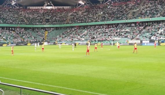 Legia Warszawa - Jagiellonia Białystok, 29.08.2020, fot. Joanna Szubzda