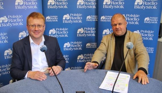 Mariusz Dąbrowski i Adam Walicki, fot. Marcin Mazewski
