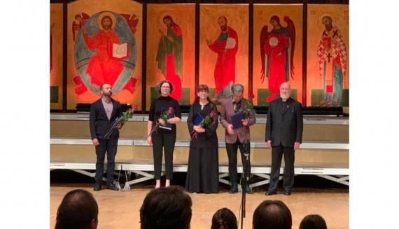"""Laureaci Międzynarodowego Festiwalu Muzyki Cerkiewnej """"Hajnówka 2020"""" - źródło: facebook.com/InternationalFestivalofOrthodoxChurchMusic"""