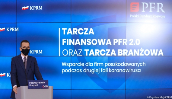 Premier Mateusz Morawiecki - fot. Krystian Maj / KPRM