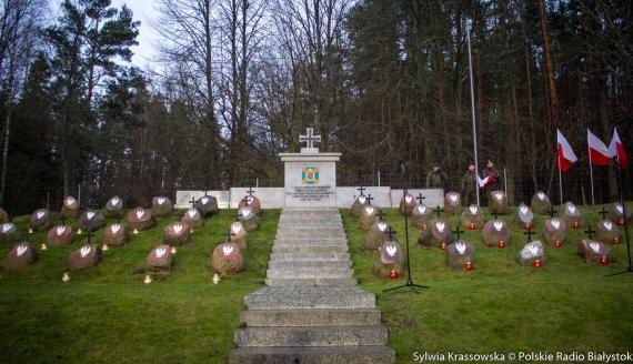 189. rocznica wybuchu Powstania Listopadowego w Kopnej Górze k. Sokołdy, fot. Sylwia Krassowska