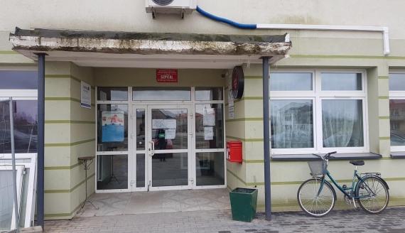 Szpital w Łapach, fot. Adam Janczewski