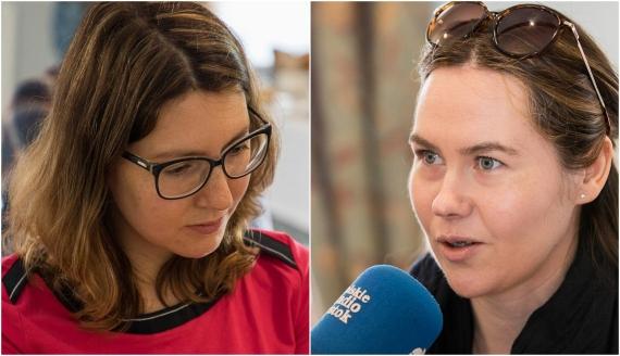 Aleksandra Sadokierska i Urszula Kropiewnicka, fot. Monika Kalicka
